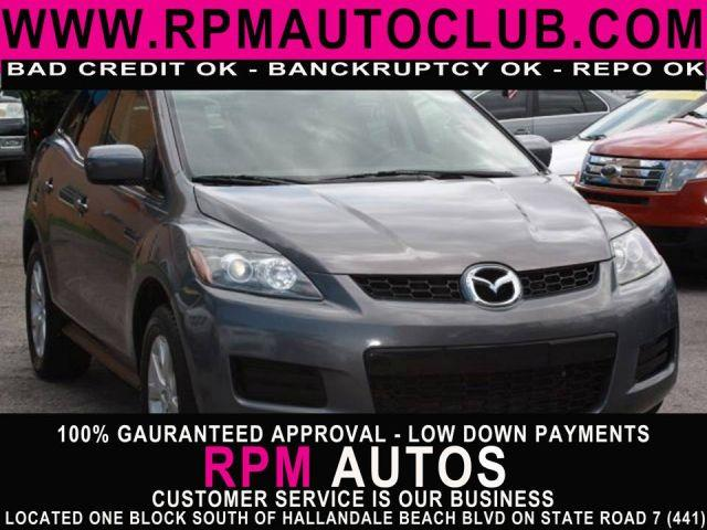 2008 MAZDA CX-7 TOURING galaxy gray 2008 mazda cx7low milesexcellent condition mechanically