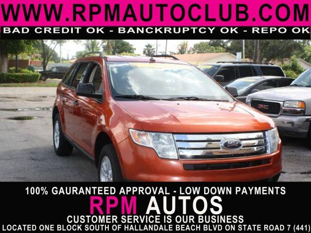 2007 FORD EDGE SE 4DR SUV blazing copper metallic 2007 ford edge se  runs great carfax avail
