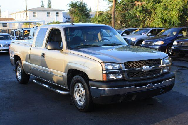2003 CHEVROLET SILVERADO 1500 EXT CAB SHORT BED 2WD light pewter metallic 2003 chevrolet silvera