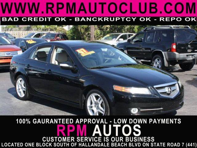 2007 ACURA TL 5-SPEED AT nighthawk black pearl 2007 acura tlpriced to sell hot carexcell