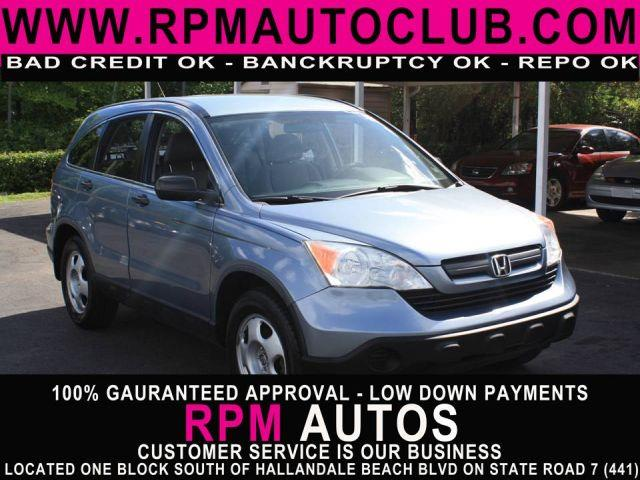 2007 HONDA CR-V LX 4DR SUV royal blue pearl 2007 honda cr-v lx 2wd atgreat gas mileagecarfa