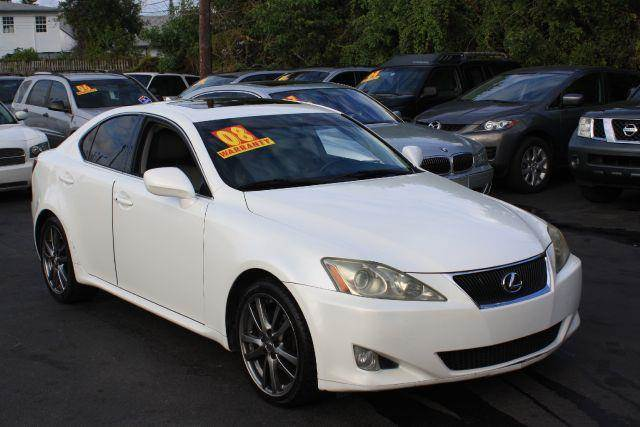 2008 LEXUS IS 250 BASE 4DR SEDAN 6A glacier frost mica 2008 lexus is is 250 6-speed sequential