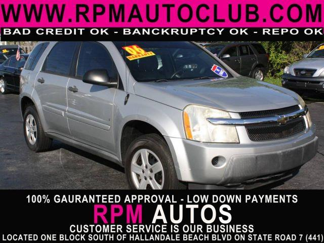 2006 CHEVROLET EQUINOX LS 4DR SUV galaxy silver metallic 2006 chevrolet equinoxbuy here pay h