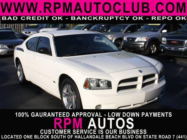 2006 DODGE CHARGER SE 4DR SEDAN stone white 2006 dodge charger great style and ride carfax av