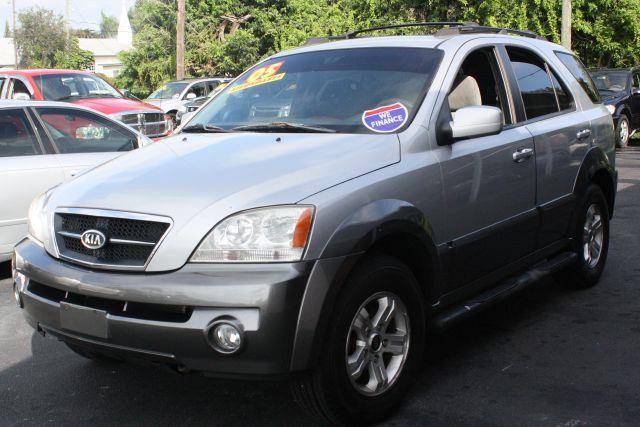 2005 KIA SORENTO EX 4WD 4DR SUV clear silverpewter gray 2005 kia sorento ex 4wdbuy here pay he