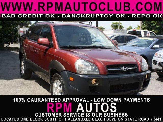 2005 HYUNDAI TUCSON GLS 27 2WD mesa red metallic 2005 hyundai tuscon glsbuy here pay her speci