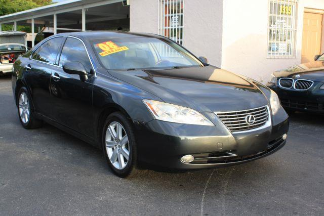 2008 LEXUS ES 350 BASE 4DR SEDAN obsidian 2008 lexus es 350 sedan6 cylinderleatherclean