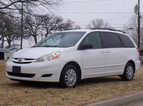 used 2007 toyota sienna for sale in texas. Black Bedroom Furniture Sets. Home Design Ideas