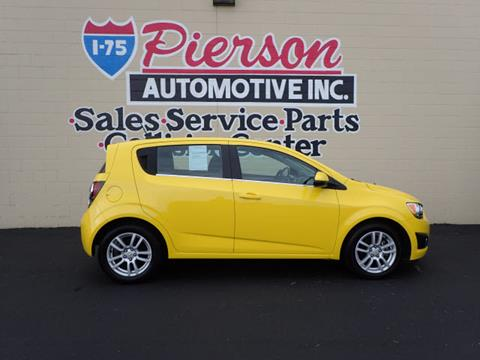 2016 Chevrolet Sonic for sale in Franklin, OH