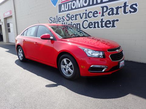 2016 Chevrolet Cruze Limited for sale in Franklin OH