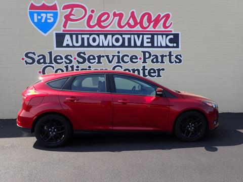 2016 Ford Focus for sale in Franklin, OH