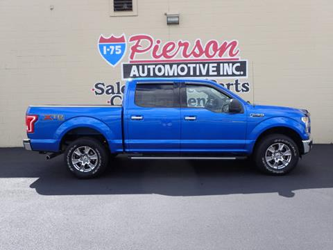 2015 Ford F-150 for sale in Franklin, OH