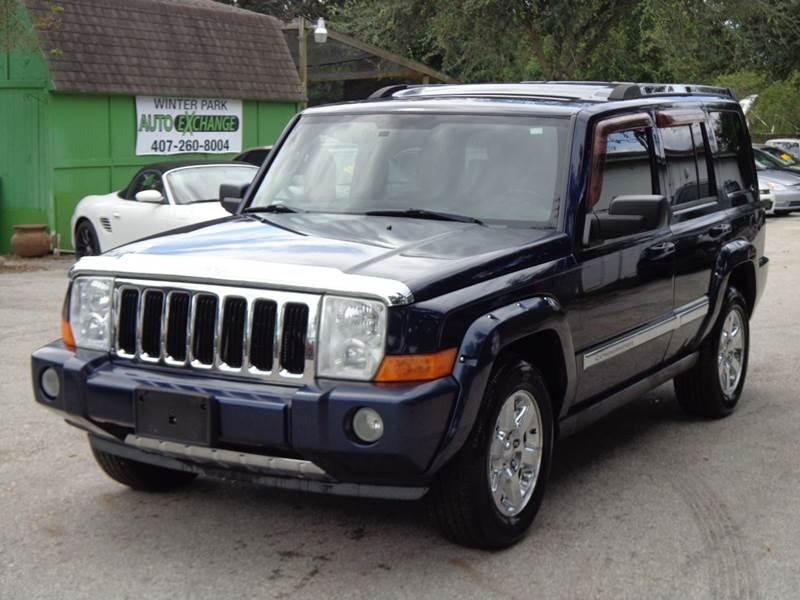 jeep commander limited for sale in orlando fl cargurus. Black Bedroom Furniture Sets. Home Design Ideas