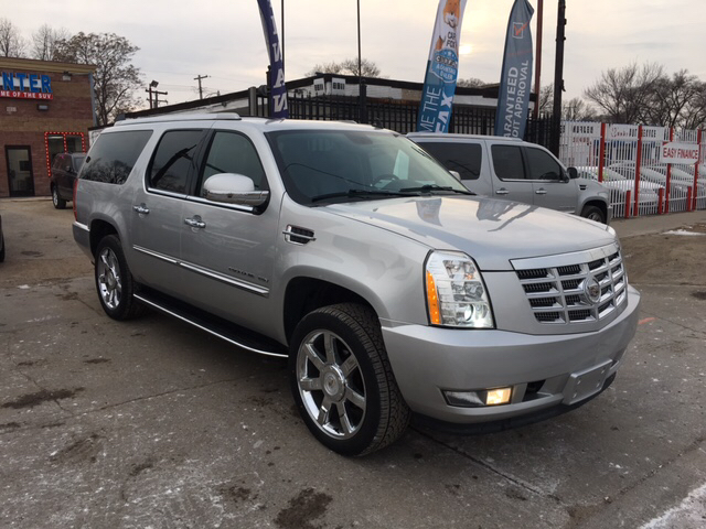 2011 cadillac escalade esv luxury awd 4dr suv in detroit. Black Bedroom Furniture Sets. Home Design Ideas