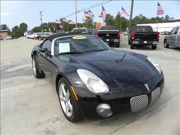 2009 Pontiac Solstice for sale in Jesup, GA