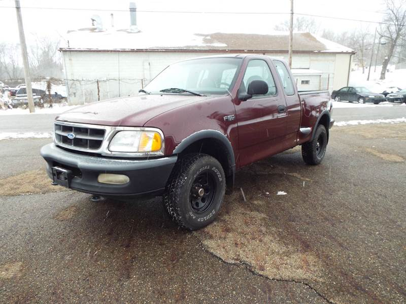 1997 ford f 150 xl 3dr 4wd extended cab stepside sb in canton oh jeff millennium used cars. Black Bedroom Furniture Sets. Home Design Ideas