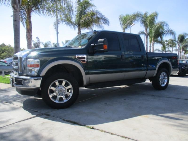 2008 ford f 250 super duty lariat 4x4 turbo diesel 6 4 l one owner clean in costa mesa ca. Black Bedroom Furniture Sets. Home Design Ideas
