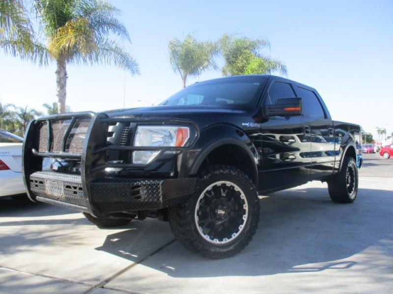 2009 ford f 150 fx4 off road 4x4 crew cab moto metal wheels in costa mesa ca premium finance. Black Bedroom Furniture Sets. Home Design Ideas