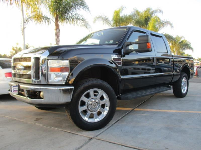 2008 ford f 250 super duty lariat 4x4 turbo diesel crew cab loaded low miles in costa mesa ca. Black Bedroom Furniture Sets. Home Design Ideas