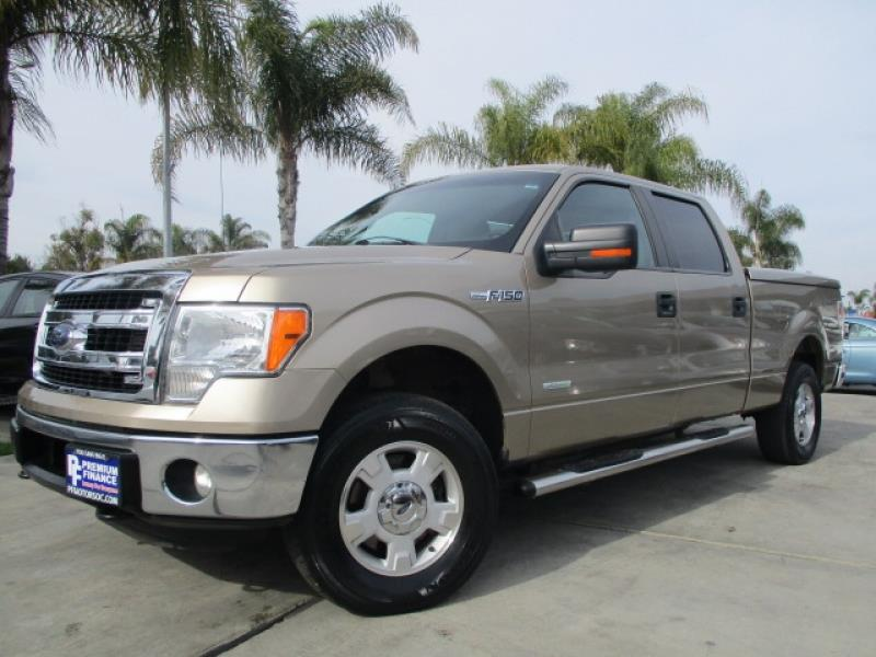 2013 ford f 150 xlt 4wd eco boost supercrew one owner w bed cover in stanton ca premium finance. Black Bedroom Furniture Sets. Home Design Ideas