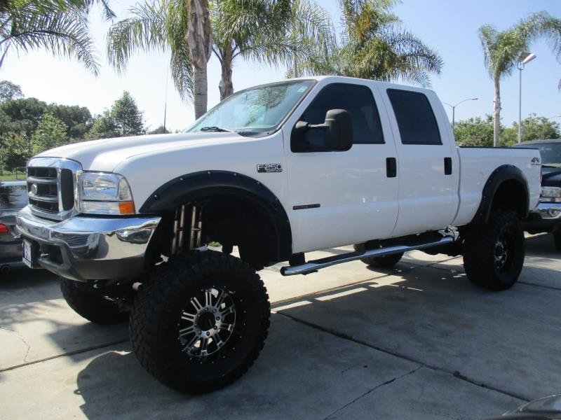 2000 ford f 250 super duty turbo diesel 7 3 l lifted 4x4 crew cab very clean in costa mesa ca. Black Bedroom Furniture Sets. Home Design Ideas