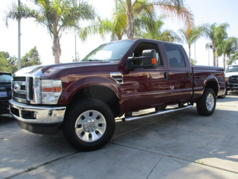 2008 ford f 250 super duty lariat turbo diesel 6 4 l w bed cover one owner in costa mesa ca. Black Bedroom Furniture Sets. Home Design Ideas