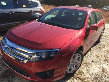 2010 Ford Fusion for sale in Hendersonville, NC