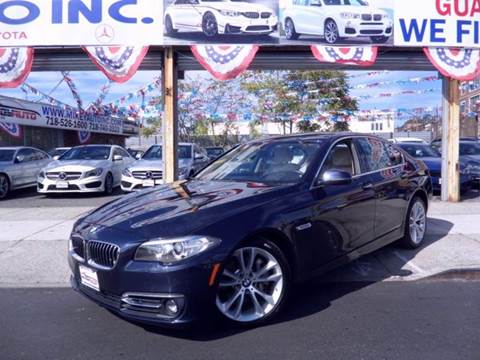 2015 BMW 5 Series for sale in Jamaica, NY