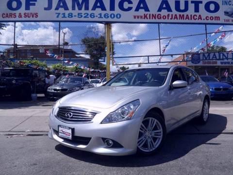 2013 Infiniti G37 Sedan for sale in Jamaica, NY