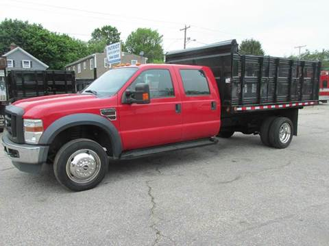 2010 Ford F-550 for sale in Johnston, RI