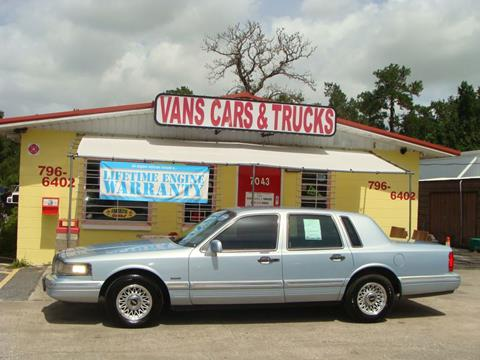 1997 Lincoln Town Car For Sale In Tulsa Ok Carsforsale Com