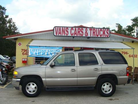 2002 GMC Yukon for sale in Brooksville, FL