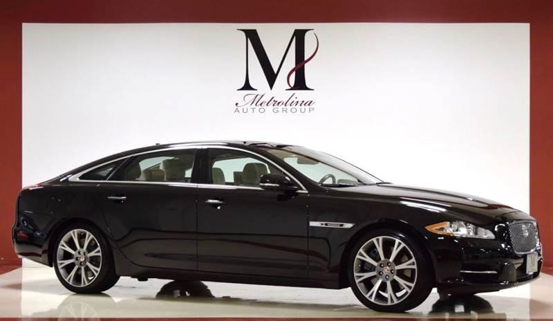 2015 jaguar xjl supercharged 4dr sedan in charlotte nc. Black Bedroom Furniture Sets. Home Design Ideas