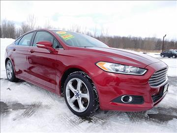 2013 Ford Fusion for sale in Central Square, NY