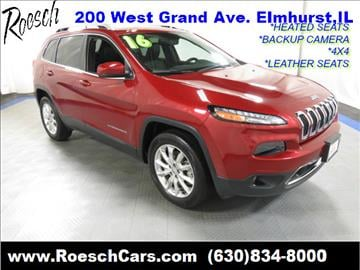 2016 Jeep Cherokee for sale in Elmhurst, IL