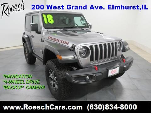 2018 Jeep Wrangler for sale in Elmhurst, IL