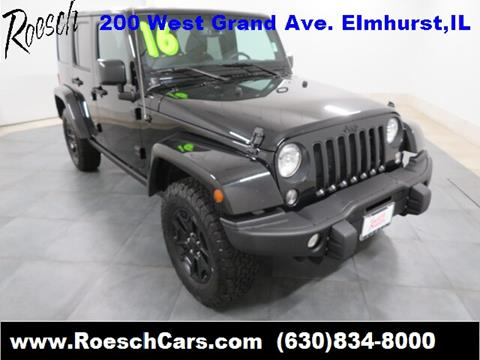 2016 Jeep Wrangler Unlimited for sale in Elmhurst, IL