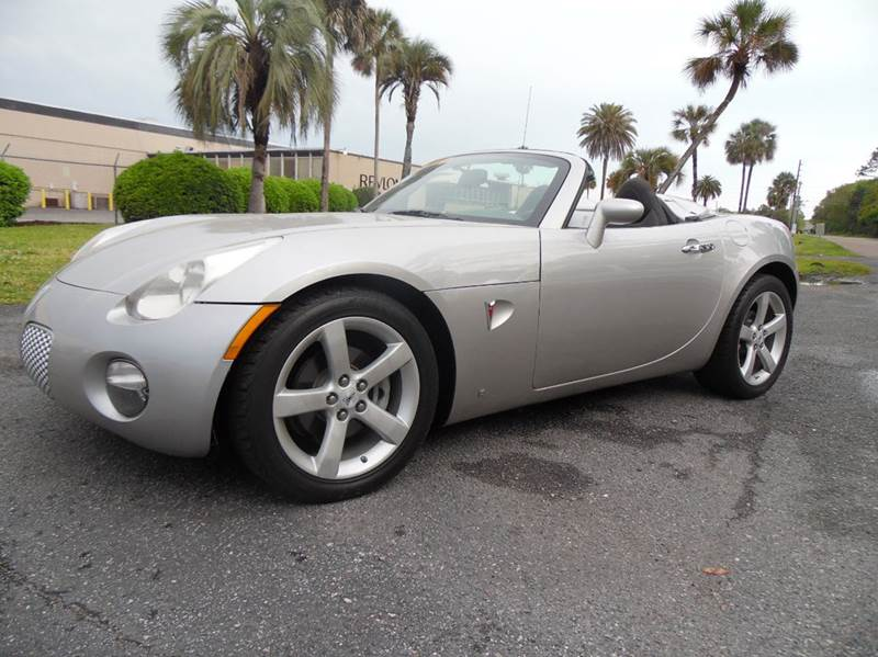 2008 pontiac solstice 2dr convertible in jacksonville fl. Black Bedroom Furniture Sets. Home Design Ideas