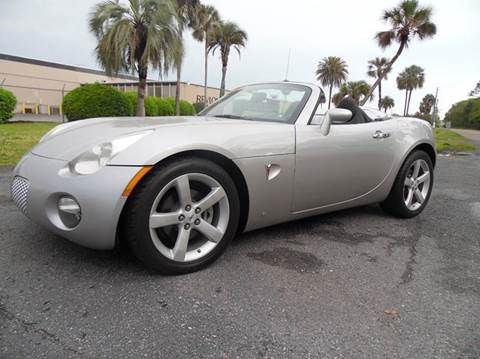 2008 pontiac solstice for sale florida. Black Bedroom Furniture Sets. Home Design Ideas