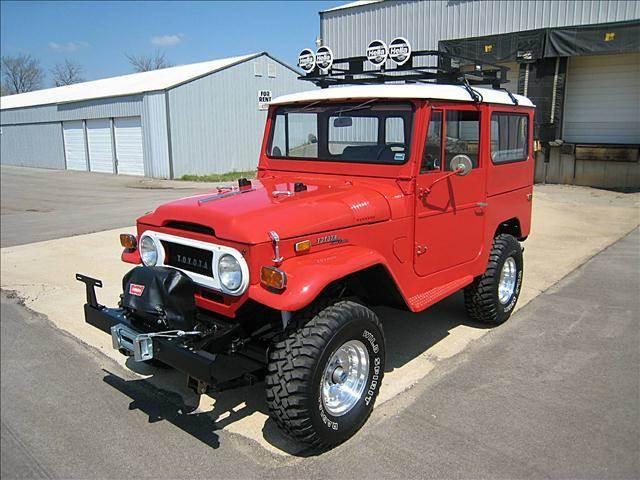 1971 Toyota Landcrusier