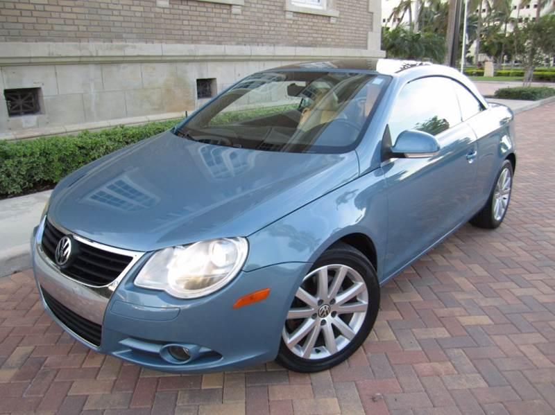 2008 Volkswagen Eos Komfort 2dr Convertible 6a In West Palm Beach Rhfloridacarstogo: 2007 Vw Eos Turbo Radio At Elf-jo.com