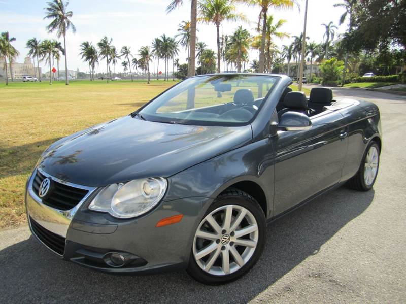 2007 Volkswagen Eos 20t 2dr Convertible Luxury In West Palm Beach Rhfloridacarstogo: 2007 Vw Eos Turbo Radio At Elf-jo.com