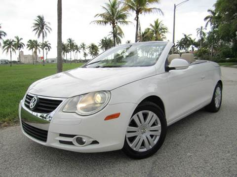 2009 Volkswagen Eos for sale in West Palm Beach, FL