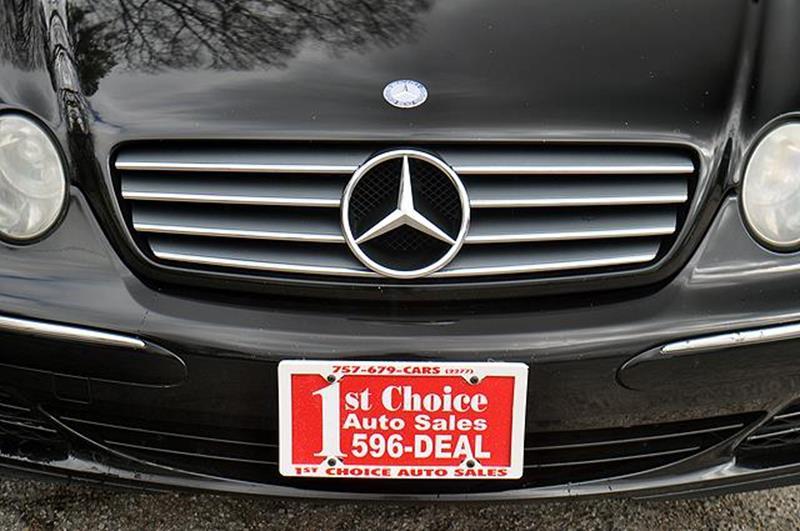 2004 Mercedes-Benz CL-Class CL 500 2dr Coupe - Newport News VA