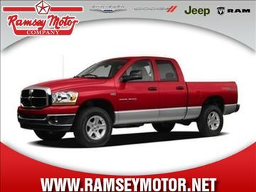 Dodge trucks for sale for Ramsey motor company harrison ar