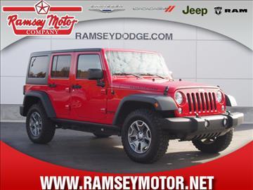 2014 jeep wrangler for sale for Ramsey motor company harrison ar