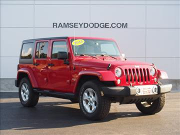 2014 Jeep Wrangler Unlimited for sale in Harrison, AR