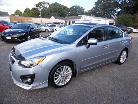 2012 Subaru Impreza for sale in Norfolk, VA