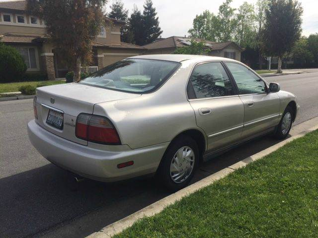1996 honda accord dx 4dr sedan w value package in fremont. Black Bedroom Furniture Sets. Home Design Ideas