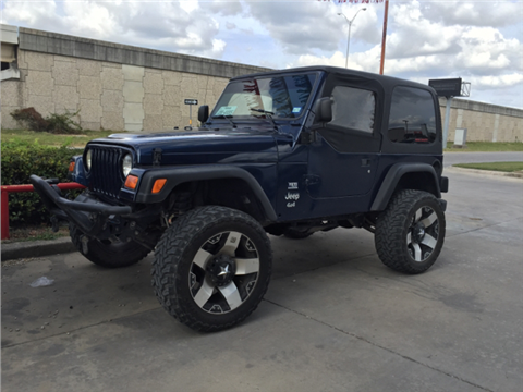 2003 jeep wrangler for sale san antonio tx. Black Bedroom Furniture Sets. Home Design Ideas